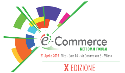 Saremo all'E-commerce Netcomm Forum 2015