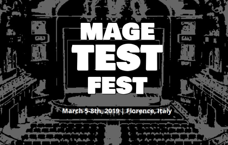 MageTestFest 2 – Firenze 7 marzo 2019