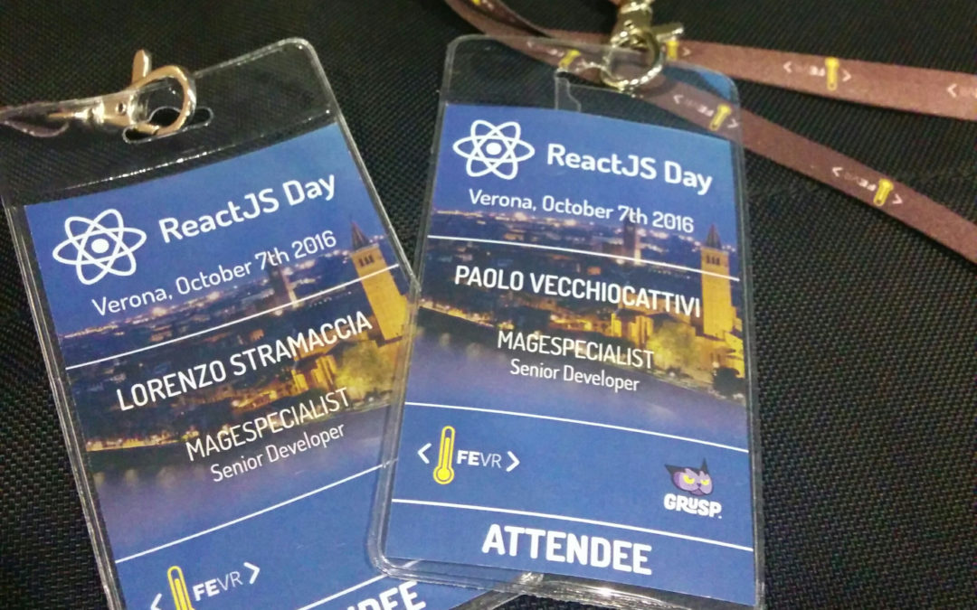 Resoconto del ReactJS Day 2016 – Parte 2